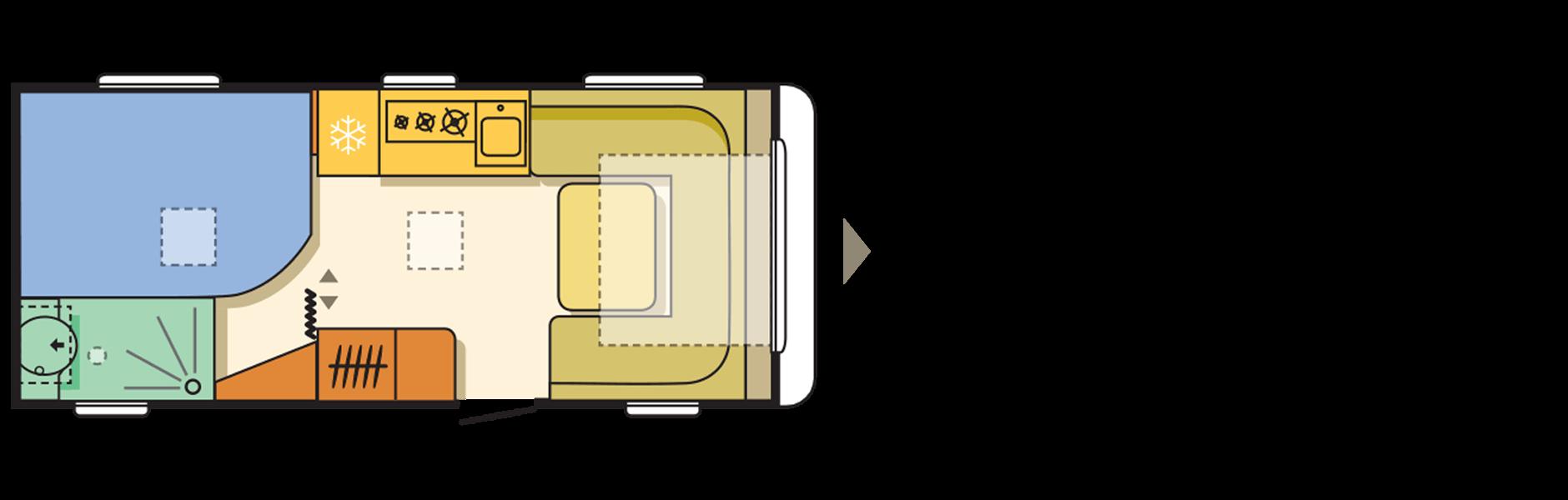 קרוואן דגם אדורה