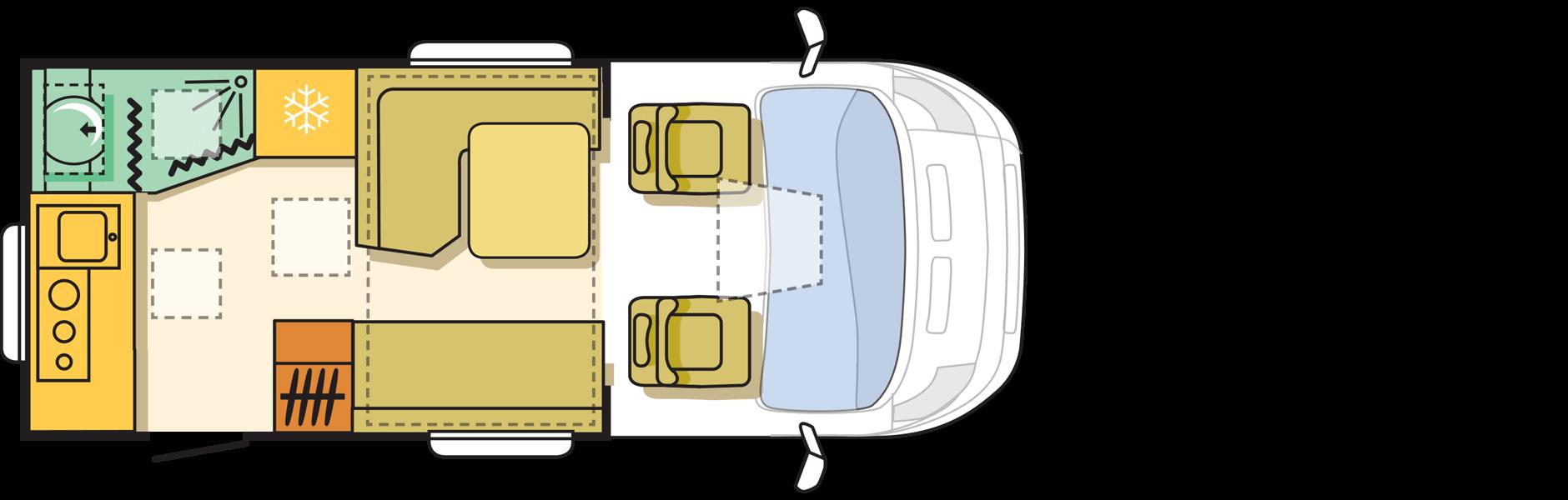 מבנה דגם מטריקס